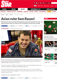 APT Player Of the Year 2013 Sam Razavi