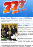 777 Gaming News - Oct. 2008