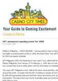 Casino City Times - Oct. 2008