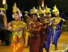 Traditional Cambodian dance performances at the APT Asian Poker Series Cambodia 2015 Welcome Cocktails