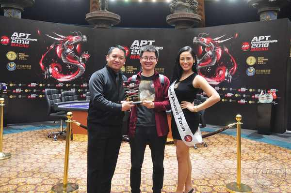 NLH One Day Event 1 Awarding