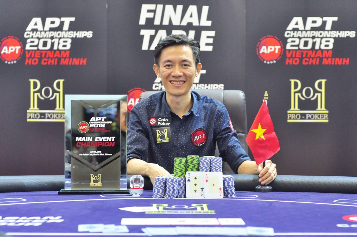 APT Ho Chi Minh Main Event Champion
