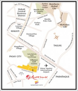 Resorts World Manila map