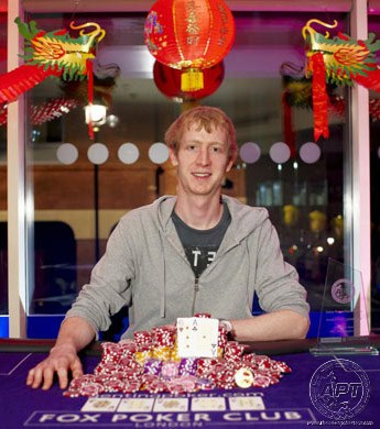 APT London 2012 Champion William Dorey