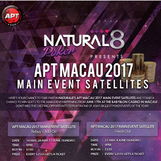 Natural8 APT Macau 2017 promo lead pic
